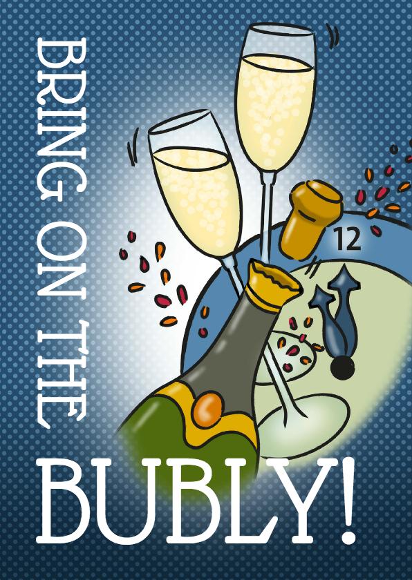 Nieuwjaarskaarten - Nieuwjaar - Bubly!