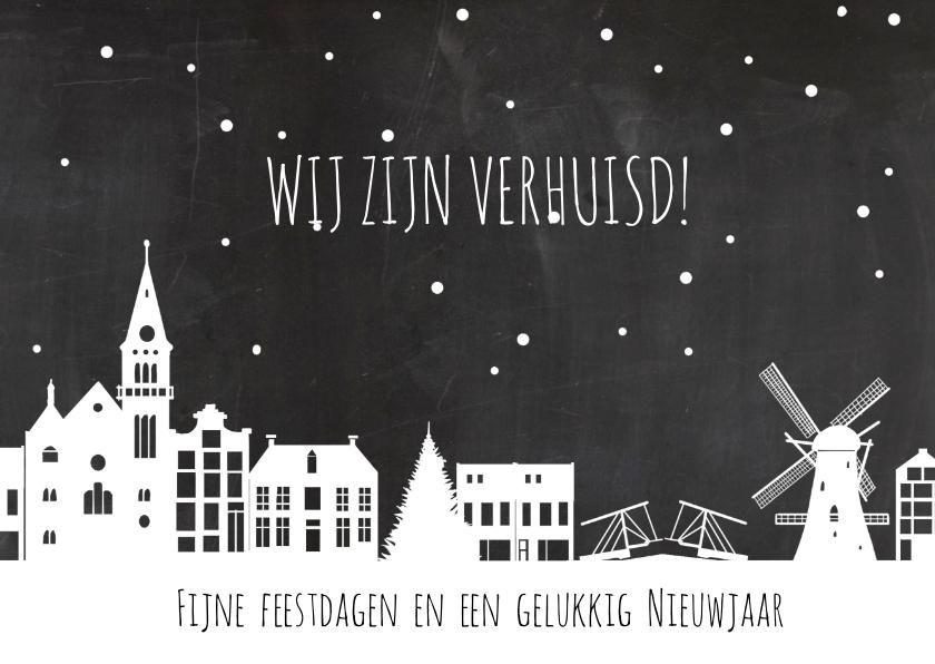 Nieuwjaarskaarten - Nieuwjaar verhuiskaart holland