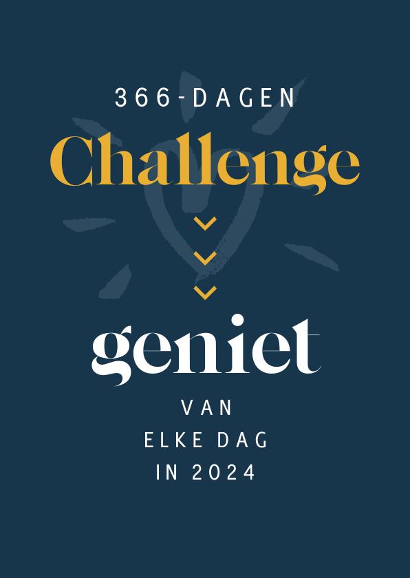 Nieuwjaarskaarten - nieuwjaarskaart challenge