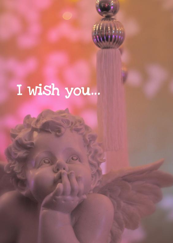 Nieuwjaarskaarten - Nieuwjaarskaart I wish you...
