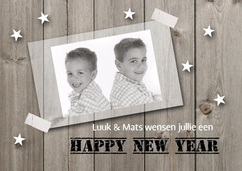 Nieuwjaarskaart met foto 02 1