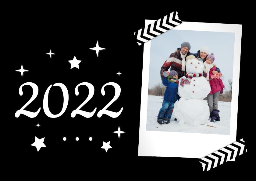 Nieuwjaarskaarten - Nieuwjaarskaart Met foto Modern 2022