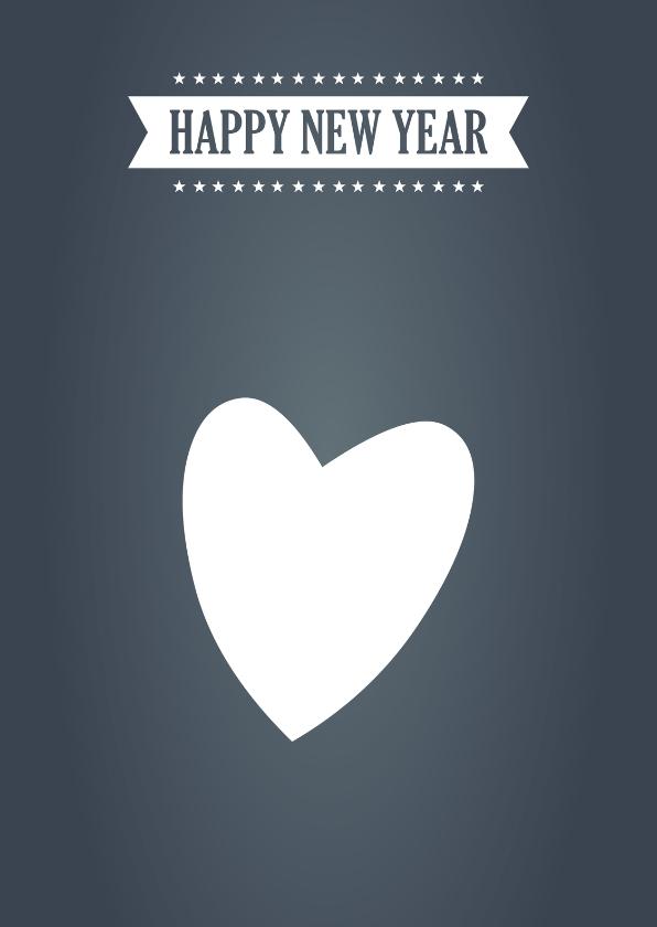 Nieuwjaarskaarten - NieuwsjaarskaartHappy New Year  17007
