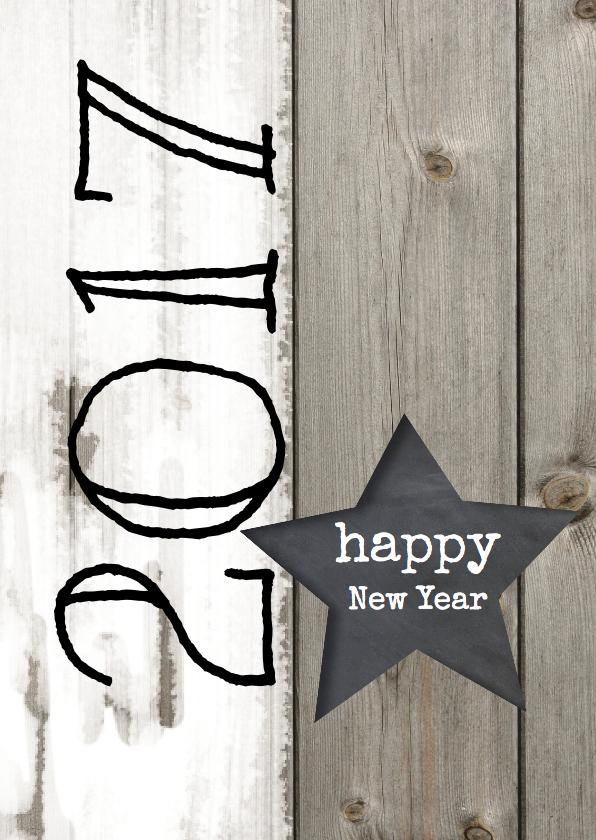 Nieuwjaarskaarten - Stoere Nieuwjaarskaart - LOVZ