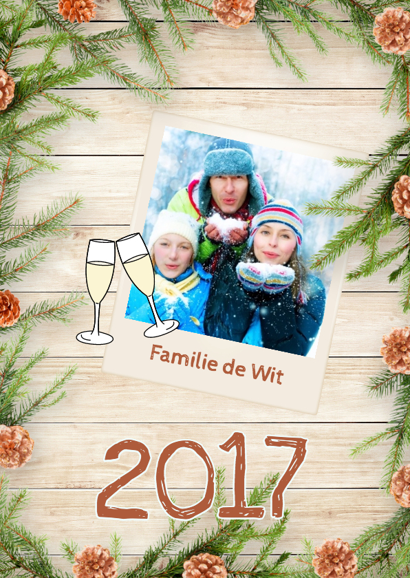 Nieuwjaarskaarten - Traditional New Year - DH