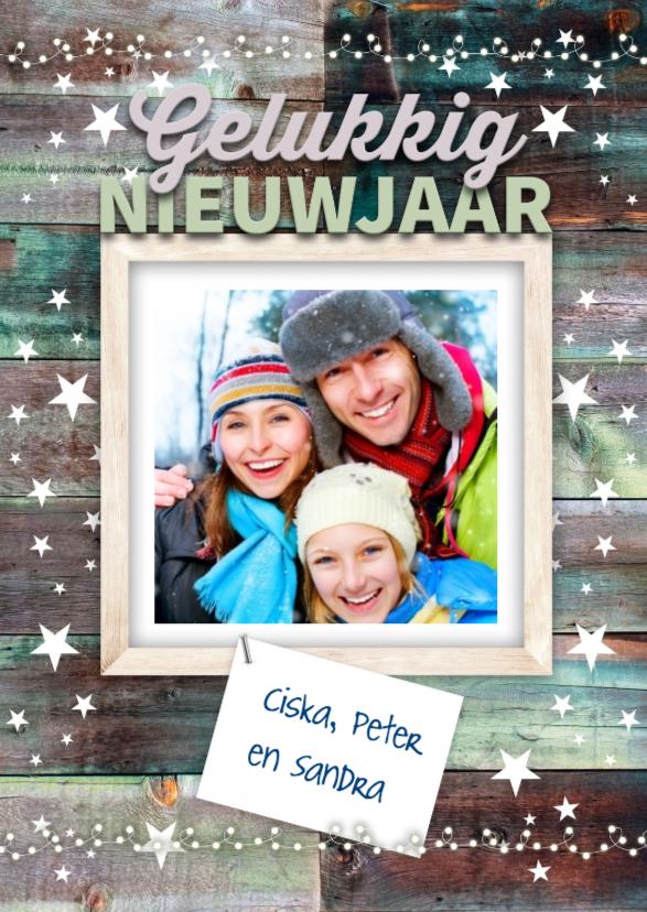 Nieuwjaarskaarten - Vanuit de skihut-isf