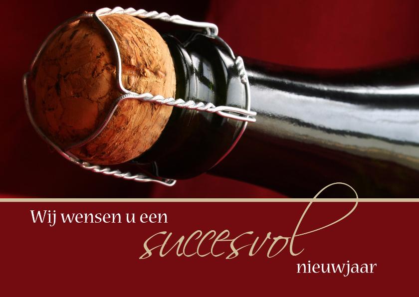 Nieuwjaarskaarten - Wij wensen u een succesvol nieuwjaar