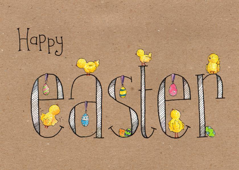 Paaskaarten - Happy Easter_Illu-Straver