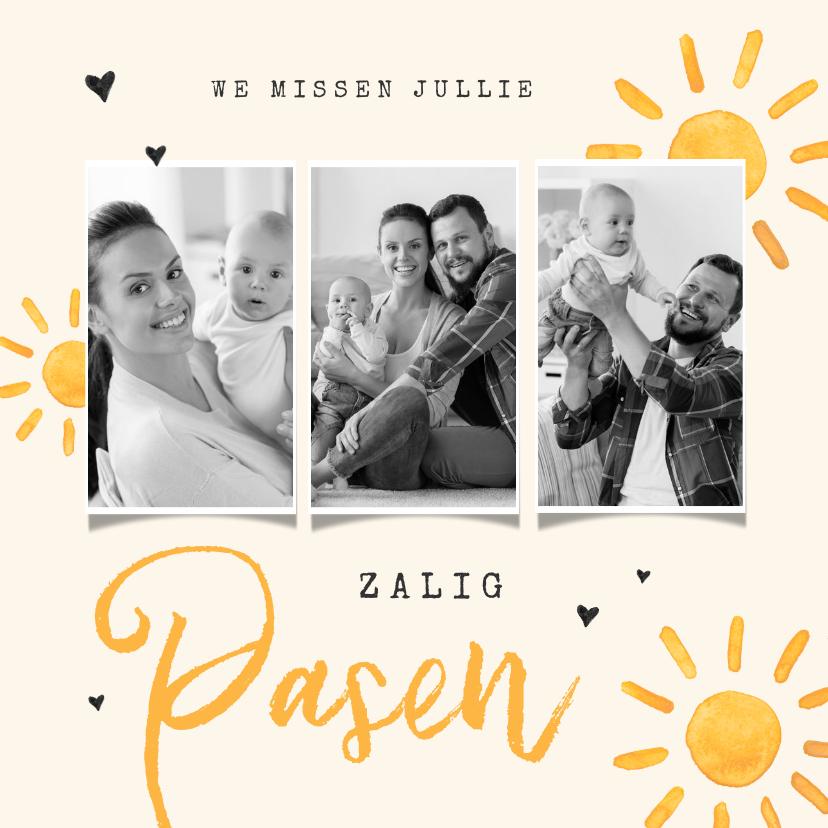 Paaskaarten - Paaskaart zon opstanding christelijk bijbel foto's