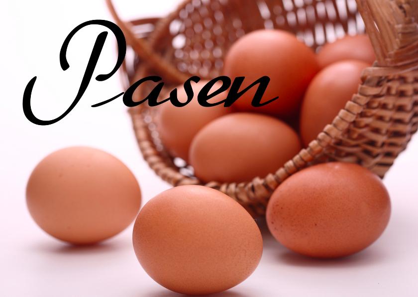 Paaskaarten - Pasen eieren