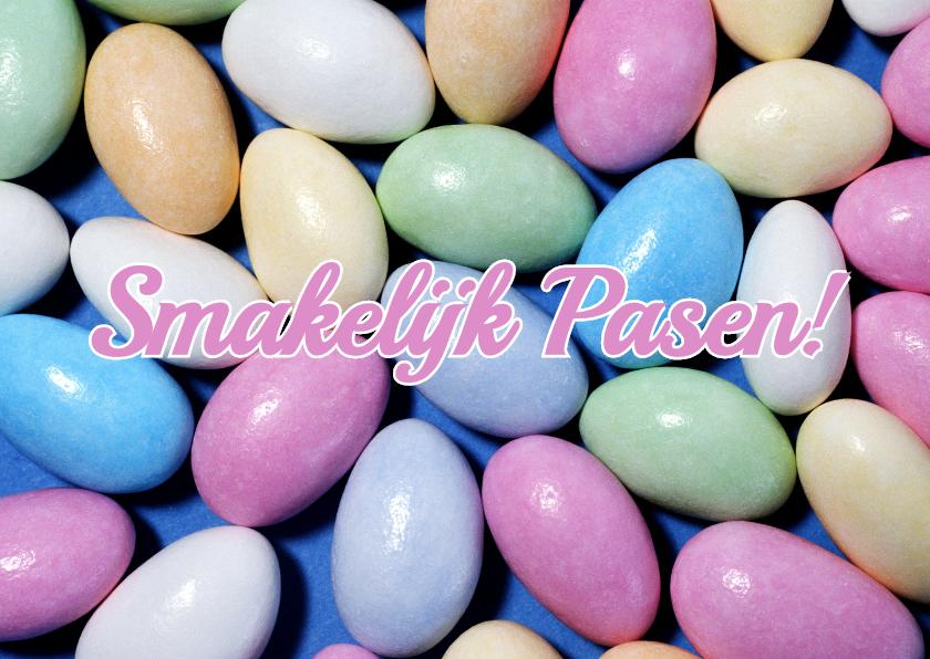 Paaskaarten - Smakelijk Pasen! - BK