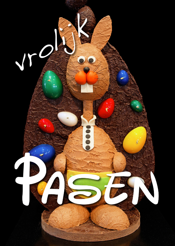 Paaskaarten - Vrolijk Pasen - Paashaas OT