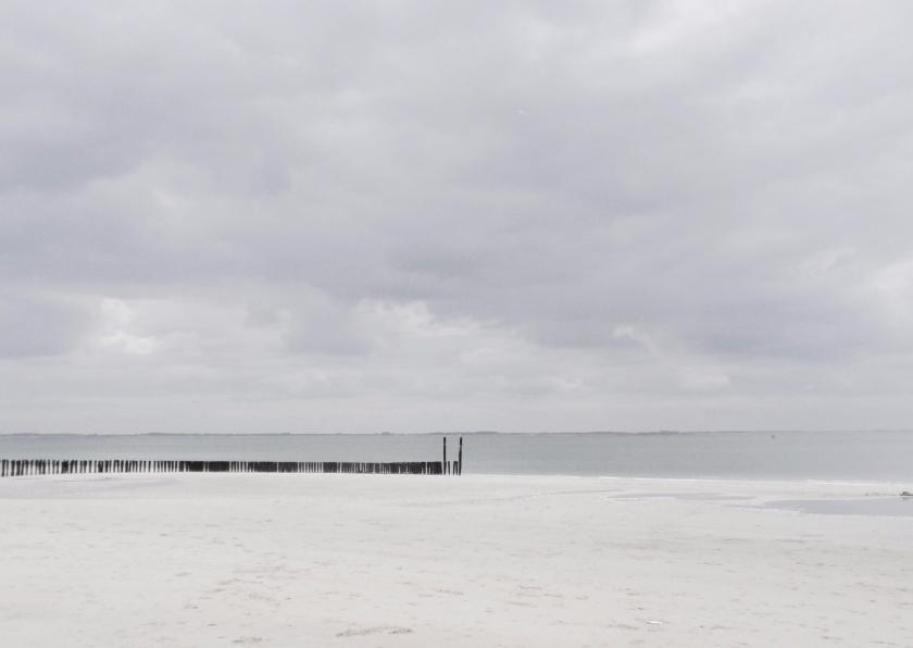 Rouwkaarten - Het stille strand