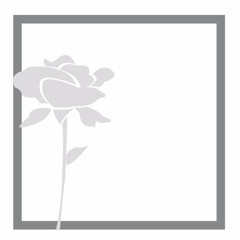 Rouwkaarten - Rouwkaart of condoleancekaart 4