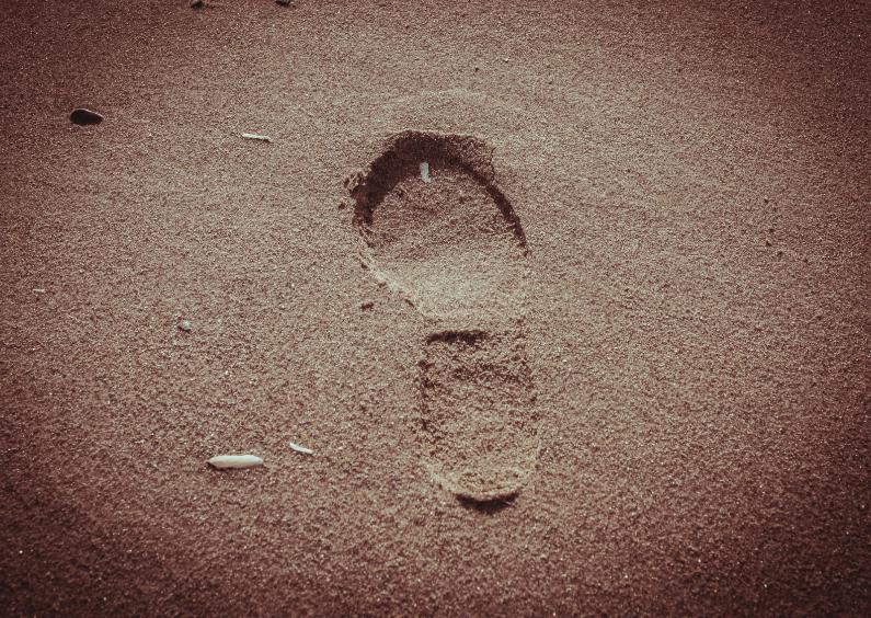 Rouwkaarten - sand