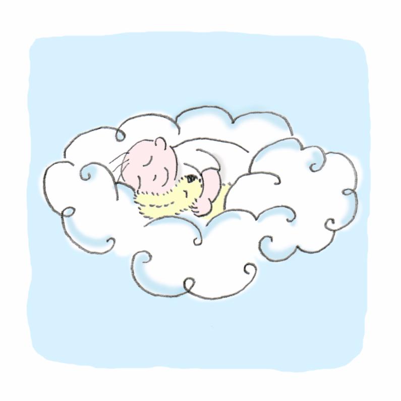 Rouwkaarten - slaap zacht