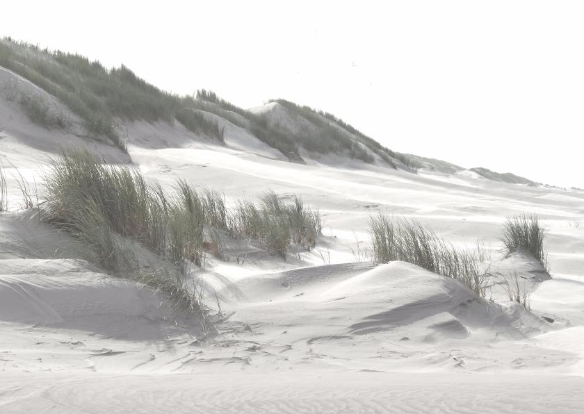 Rouwkaarten - Wind en duinen