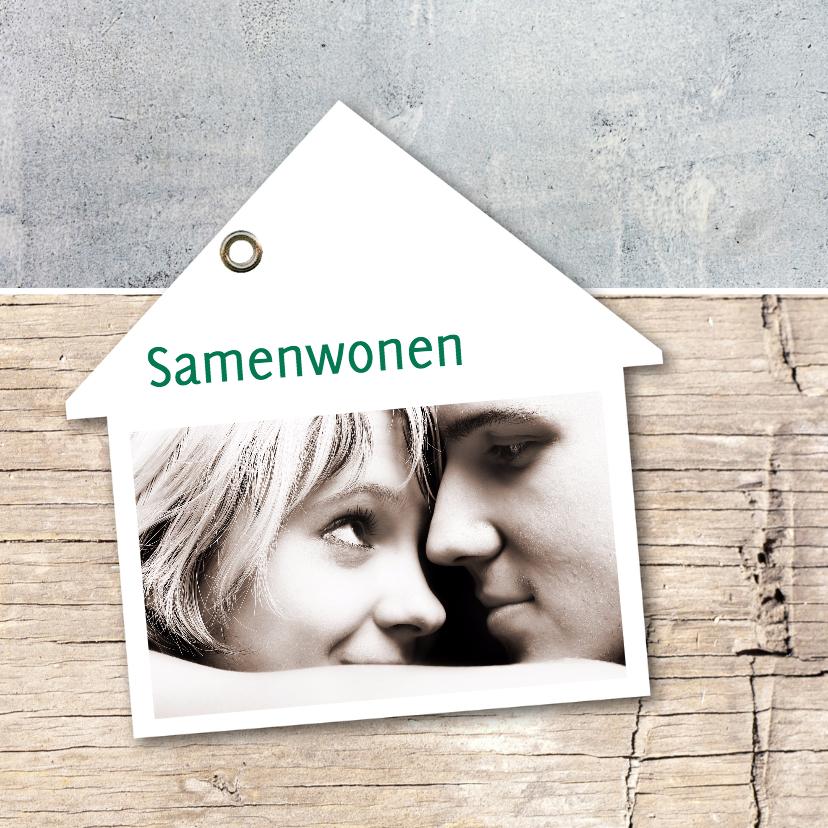 Samenwonen kaarten - Samenwonen Thijs en Rianne