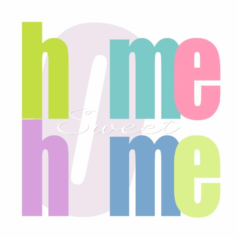 Samenwonen kaarten - Woorden Home - BK
