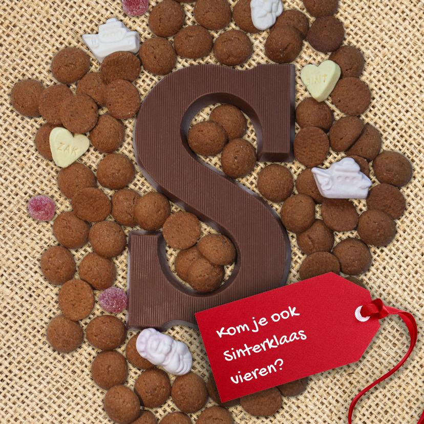 Sinterklaaskaarten - Heerlijke Sinterklaaskaart
