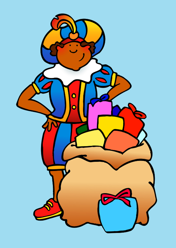 Sinterklaaskaarten - Piet