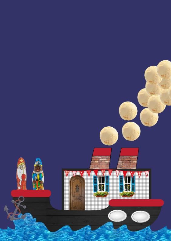 Sinterklaaskaarten - Sint 001