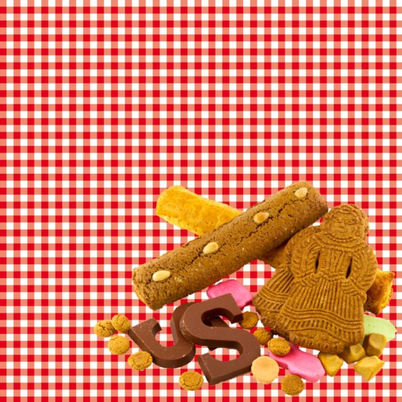 Sinterklaaskaarten - Sint 005