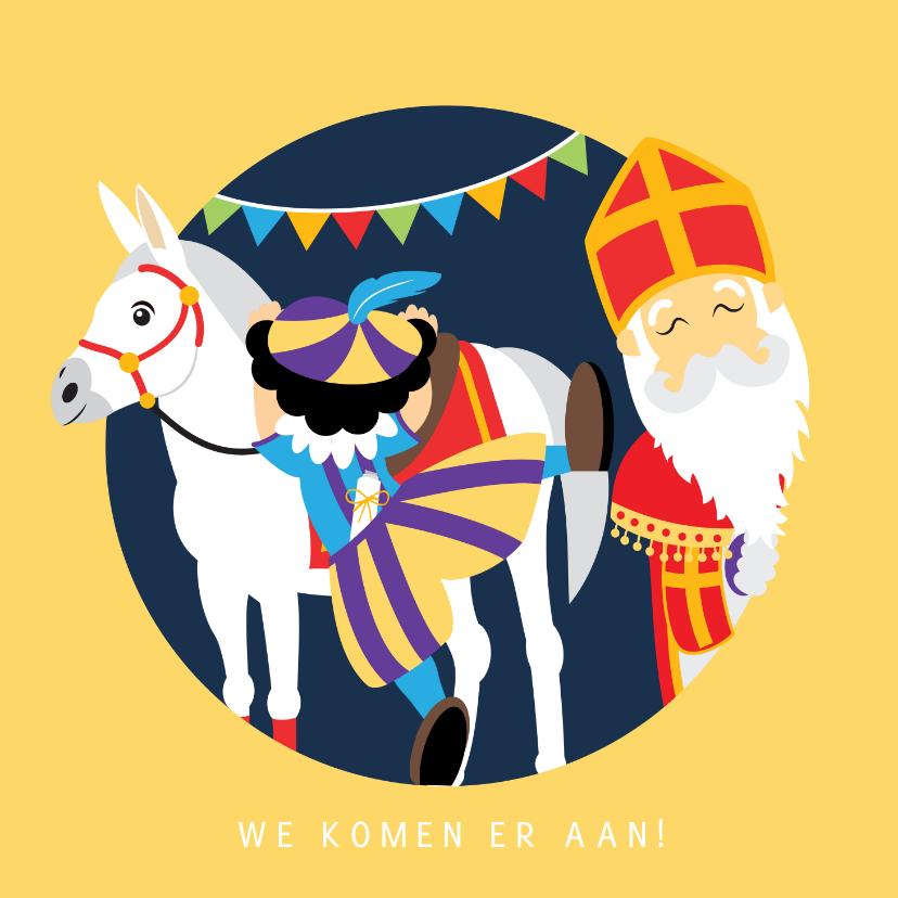 Sinterklaaskaarten - Sint en Piet komen er aan!
