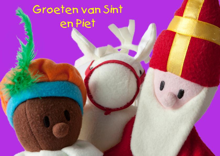 Sinterklaaskaarten - Sint Piet en Amerigo