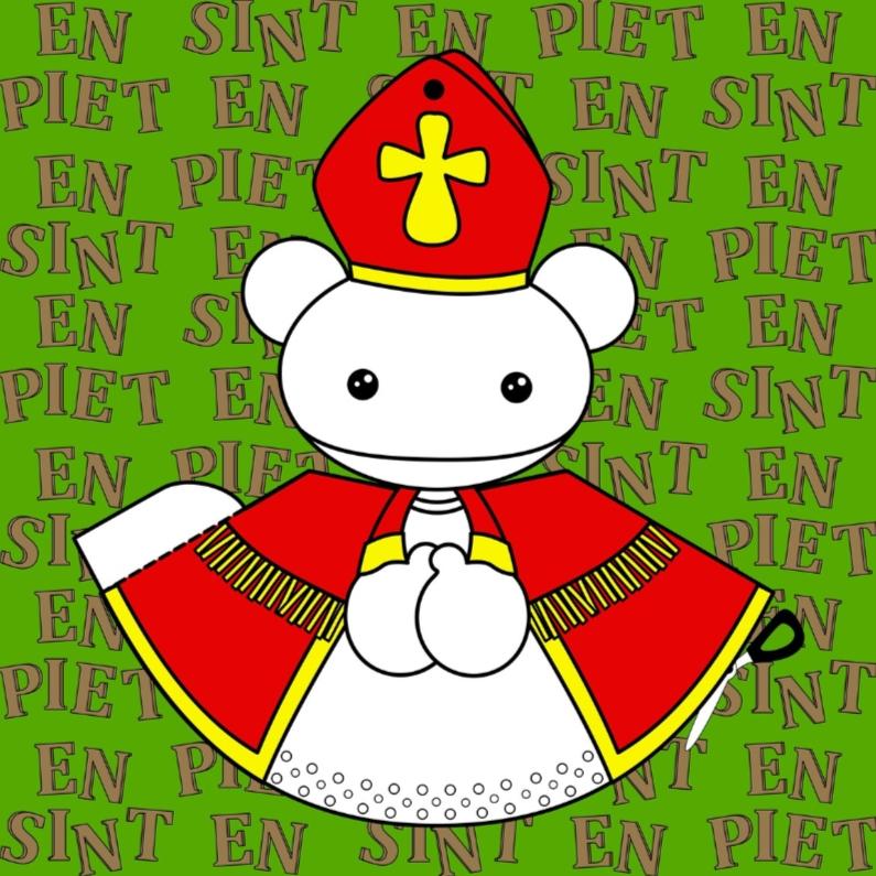 Sinterklaaskaarten - Sinterklaas knutselkaart by GIJNig