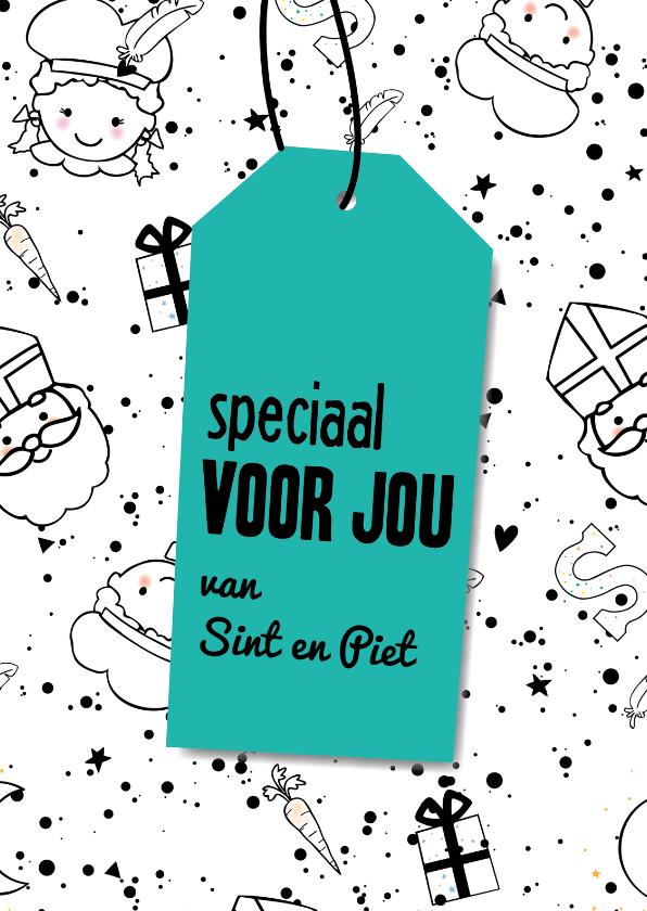 Sinterklaaskaarten - Sinterklaaskaart speciaal voor jou