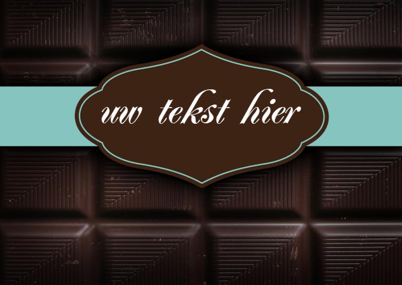 Sorry kaarten - Chocoladereep wenskaart sorry