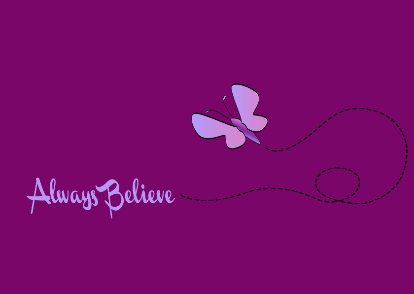 Religie kaarten - Always believe