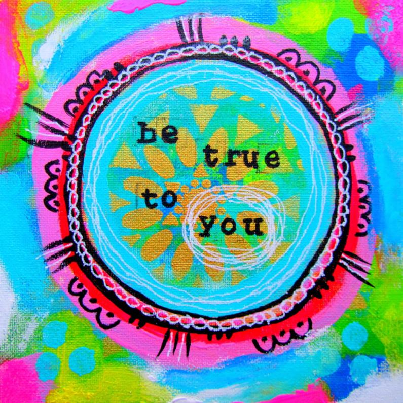 Religie kaarten - Be true to you