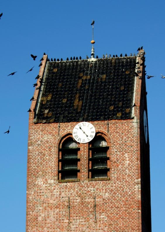 Religie kaarten - kerk toren