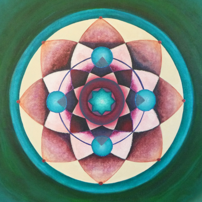 Religie kaarten - Mandala Balance