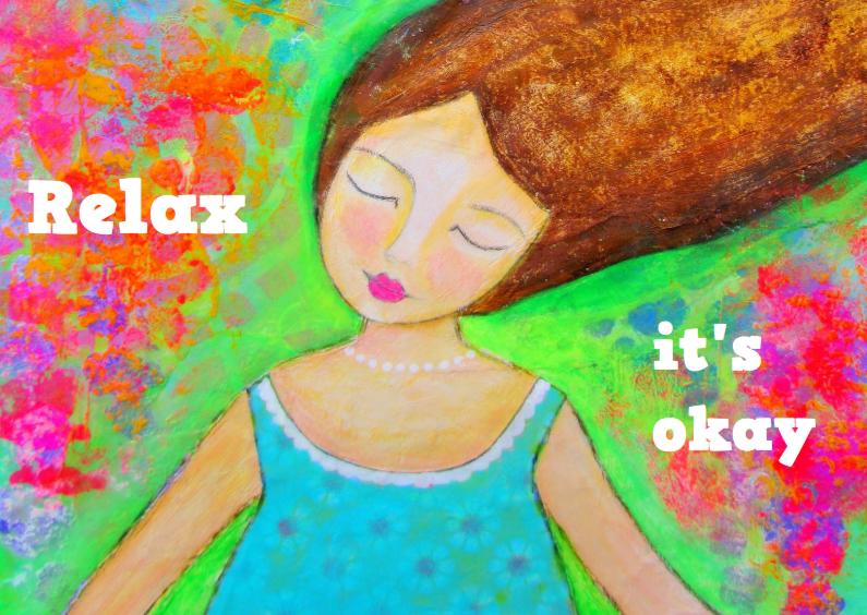 Religie kaarten - Relax it is okay
