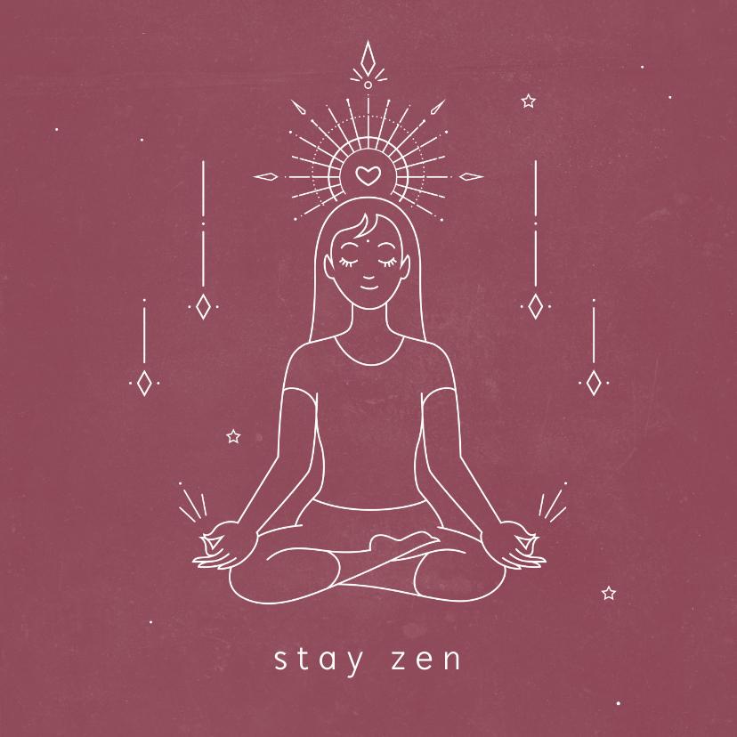Religie kaarten - Spirituele zen kaart