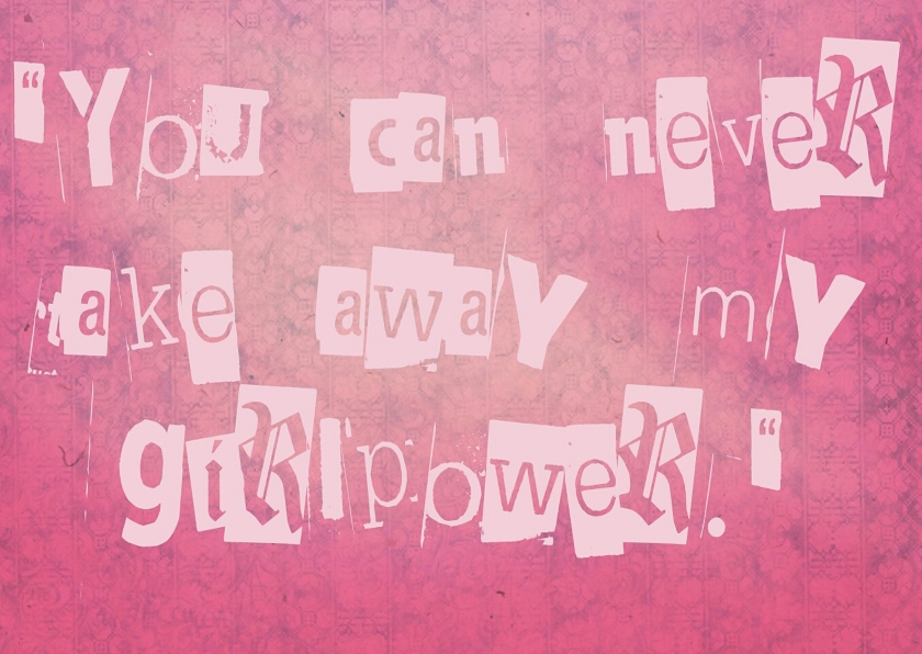 Spreukenkaarten - Girlpower