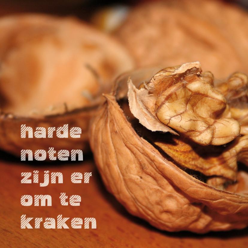 Spreukenkaarten - Harde noten