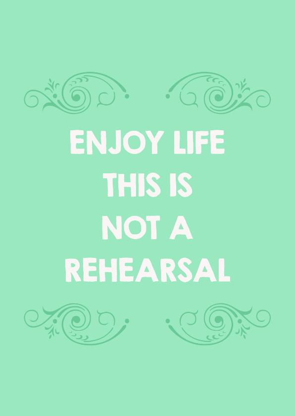 Coachingskaarten - Life rehearsal