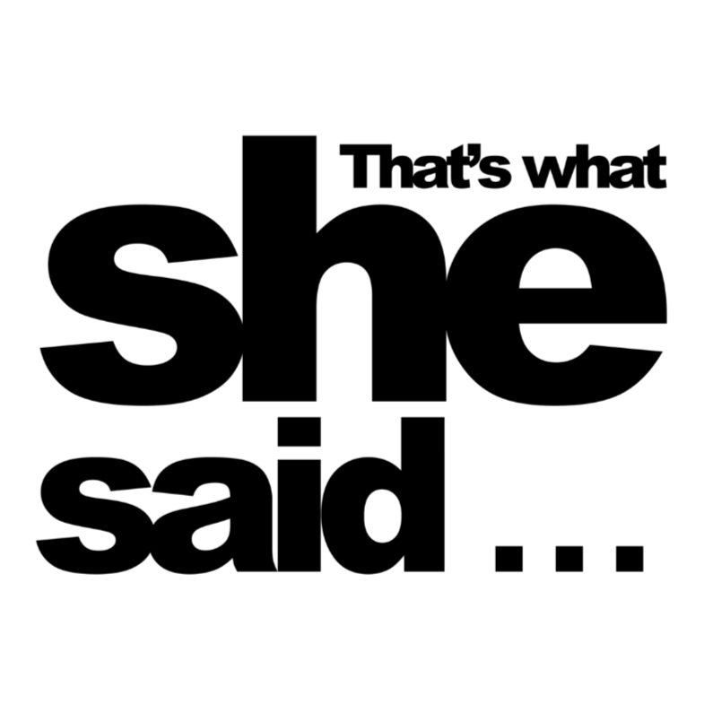 Spreukenkaarten - thats what she said