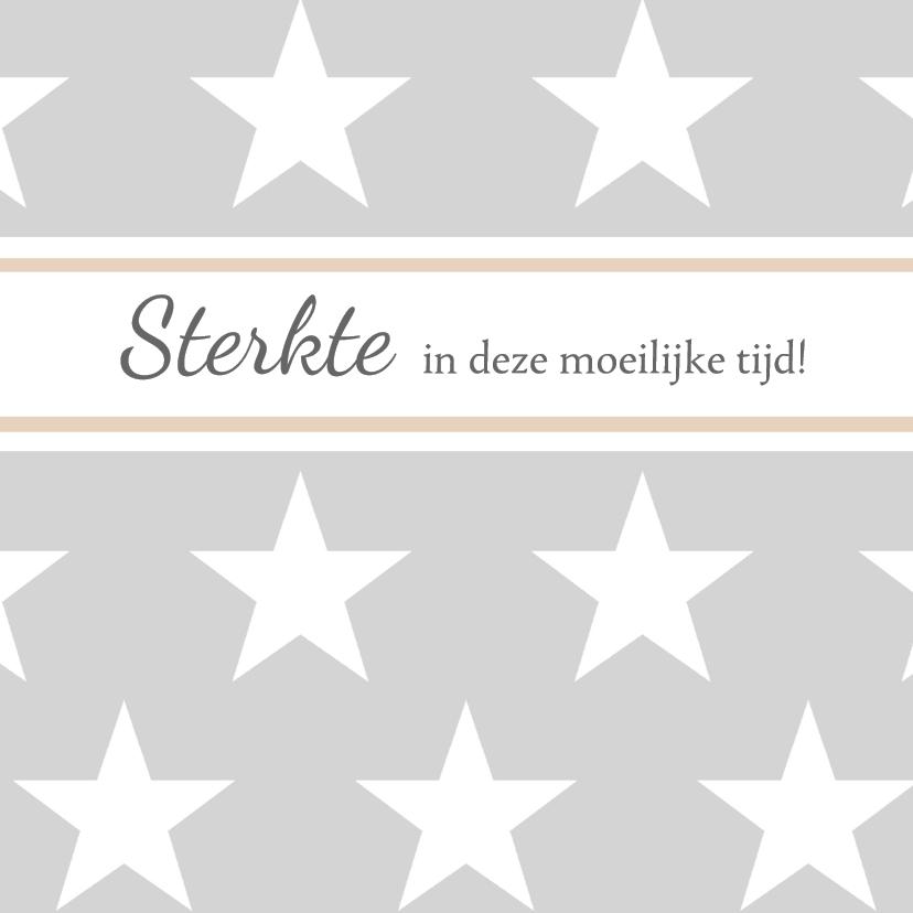 Sterkte kaarten - Bar creatief - Moeilijke tijd sterren