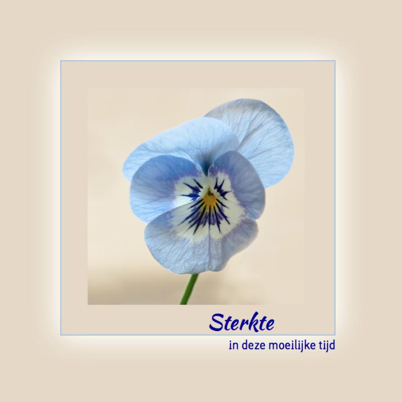 Sterkte kaarten - Blauw viooltje