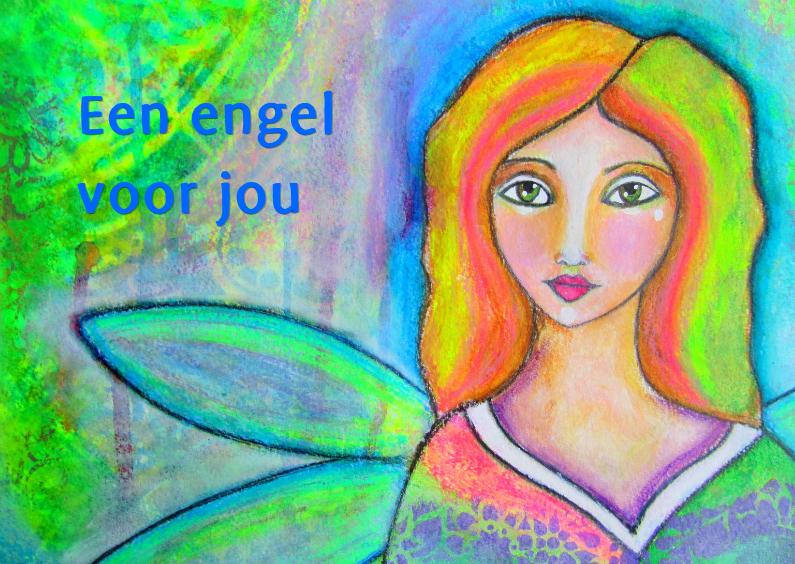 Sterkte kaarten - Een engel voor jou