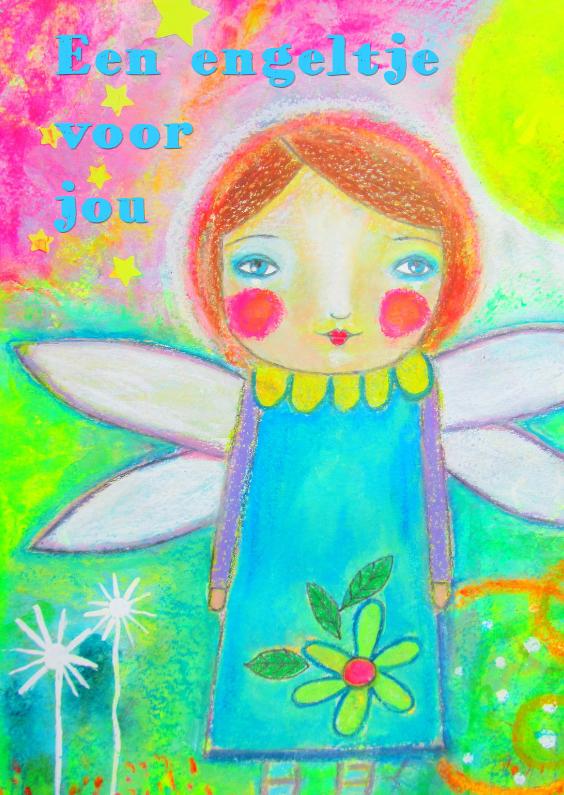 Sterkte kaarten - Een engeltje voor jou