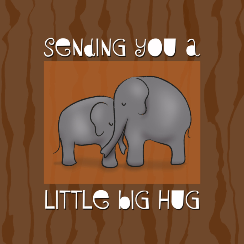Sterkte kaarten - Little Big Hug