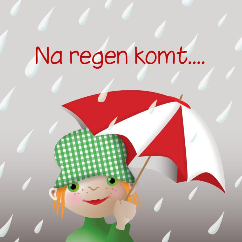 Sterkte kaarten - Na regen komt