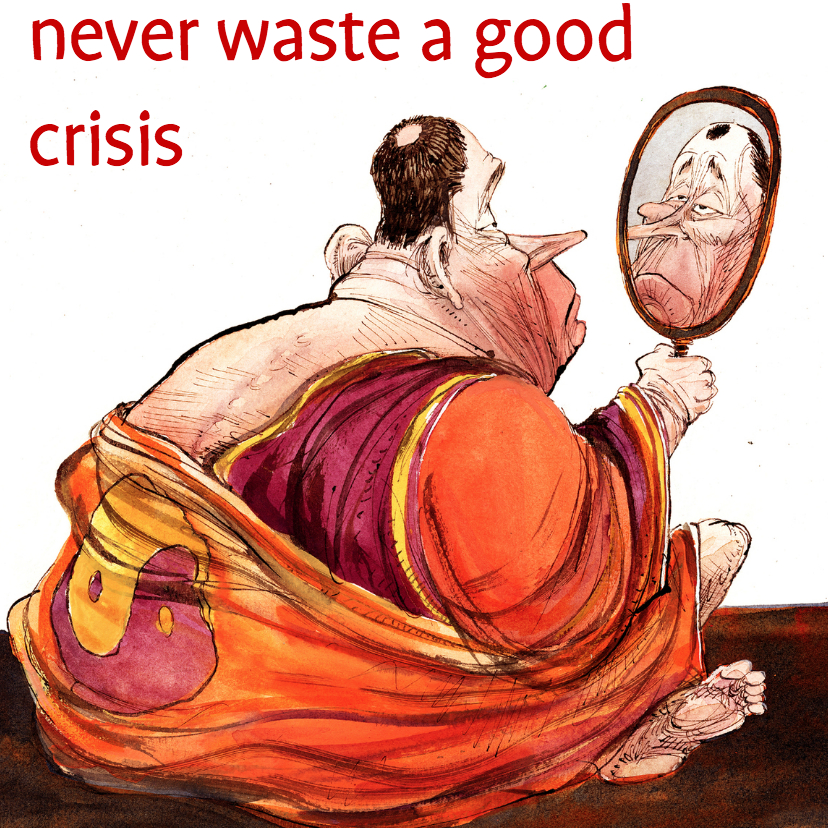 Sterkte kaarten - never waste a good crisis