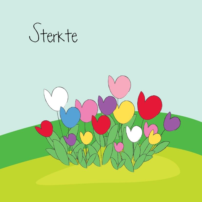 Sterkte kaarten - Sterkte bloemen